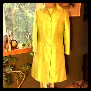 Vintage coat and dress circa 1960's